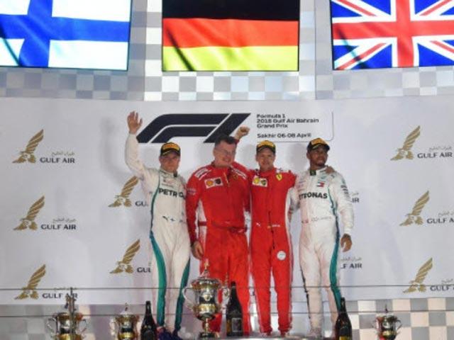 Đua xe F1, Bahrain GP 2018: Nghẹt thở chiến thắng 0,699 giây ngay vạch đích
