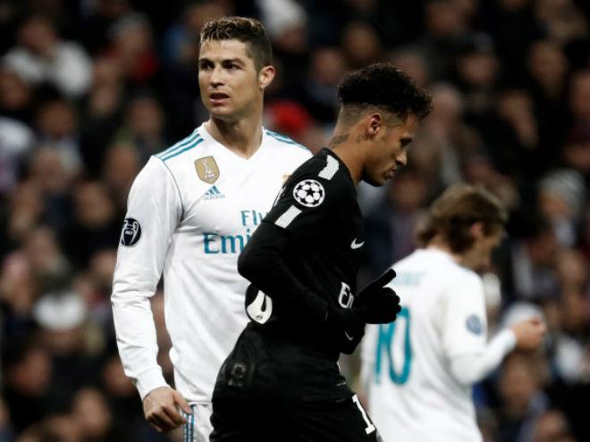 """Real, MU tranh """"bom tấn"""" Neymar: Ronaldo ra tay, gọi điện rủ về Bernabeu - 1"""