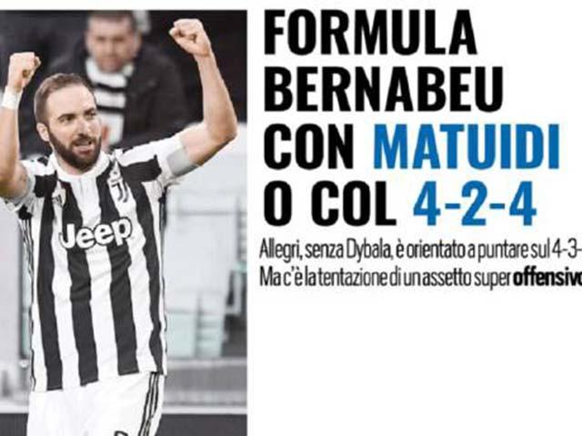 Juventus lộ mưu ngược dòng Real: Đá 4 tiền đạo, dùng sơ đồ cổ xưa