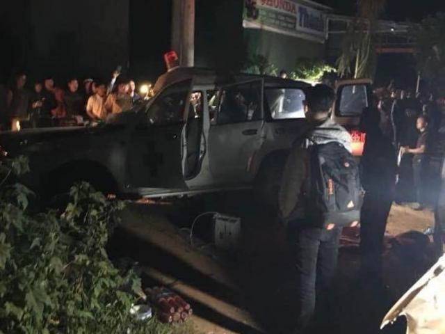Xe cứu thương bị tai nạn liên hoàn, 6 người thương vong
