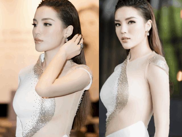 Hoa hậu Kỳ Duyên thừa nhận nâng ngực vì tự ti