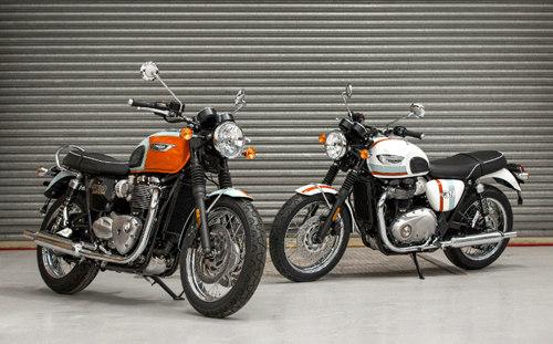 Triumph tung phiên bản giới hạn của Bonneville T100 và T120 - 1