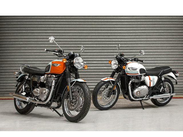 Triumph tung phiên bản giới hạn của Bonneville T100 và T120