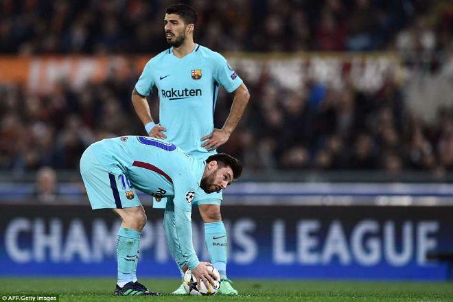 """Roma """"hủy diệt"""" Barca cúp C1: Thăng hoa tột đỉnh, chôn vùi Messi - 1"""