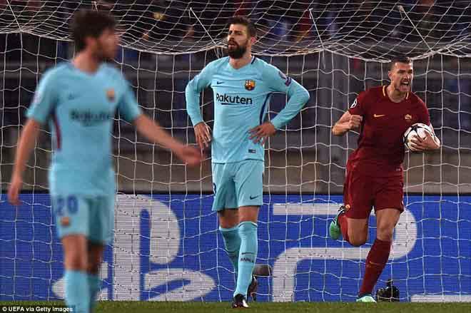 """Roma: Từ ác mộng 1-7 trước MU-Ronaldo, rũ bùn đứng dậy """"hạ nhục"""" Barca - 1"""