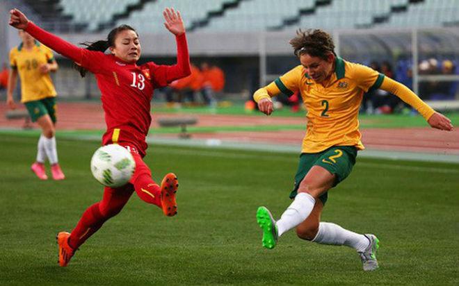"""ĐT nữ Việt Nam - Australia: Bắn phá liên hồi, """"mưa bàn thắng"""" xối xả - 1"""