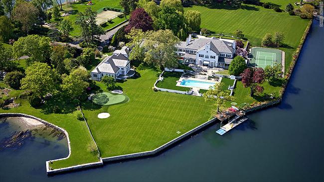 Toàn cảnh ngôi nhà 45 triệu USD (~1.025 tỷ đồng)tại Greenwich, Connecticut