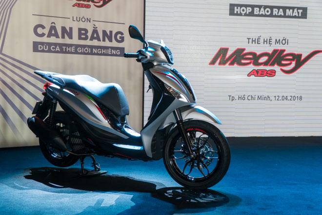 Medley ABS 150 ra mắt, giá bán từ 73,5 triệu đồng, đối trọng của SH 150 - 1