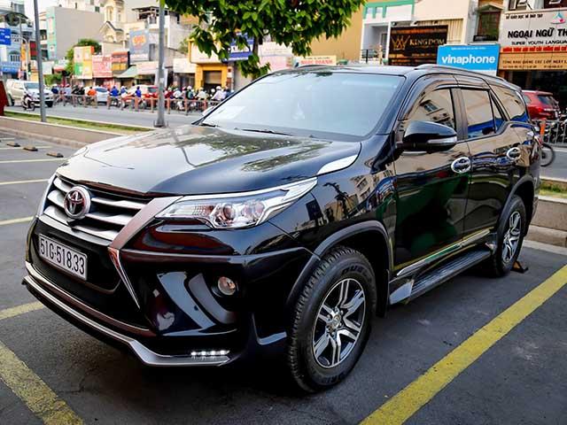 Bảng giá xe ôtô Toyota Việt Nam cập nhật tháng 4/2018