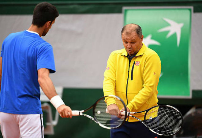 Djokovic trở lại với HLV Vajda: Một nửa vĩ đại - 1