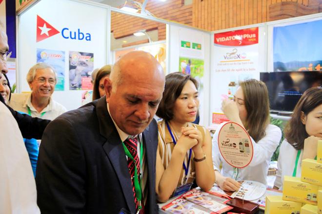 Thành tựu y học Cuba nổi bật tại triển lãm Vietnam Expo 2018 - 1