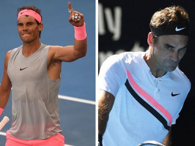 Nadal nguy cơ mất ngôi số 1 thế giới: Federer bất chiến tự nhiên thành