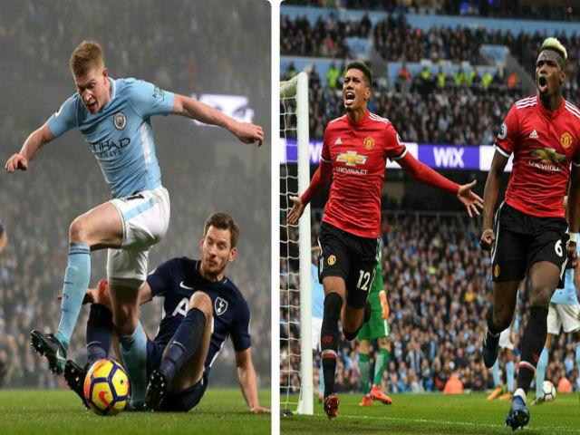 """Ngoại hạng Anh trước vòng 34: Man City rệu rã, MU âm thầm """"lật đổ"""""""