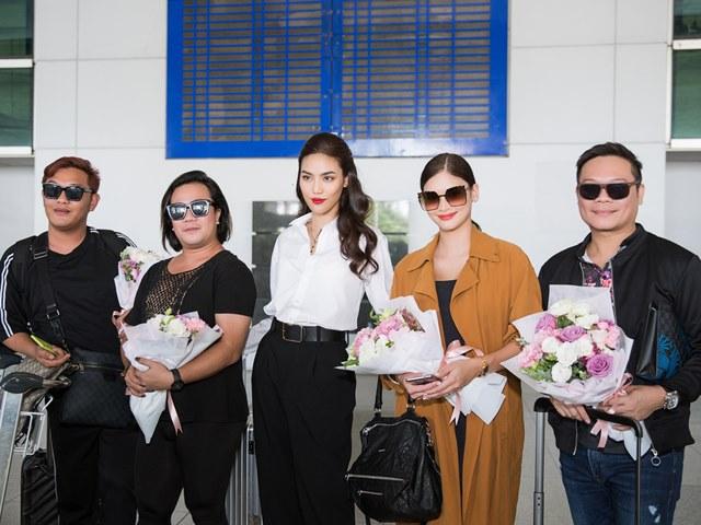 Hoa hậu Hoàn vũ 2015 Pia Wurtzbach đến Việt Nam
