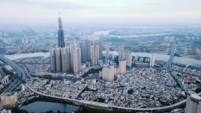 """Ngắm tòa nhà """"9 tầng mây"""" cao top 10 thế giới ở Sài Gòn - 1"""