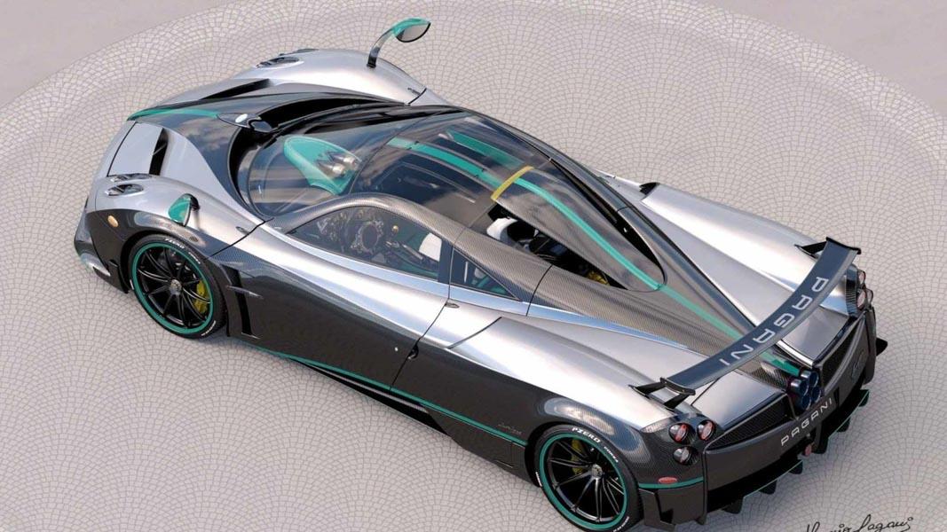 Ngắm vẻ đẹp của chiếc siêu xe Pagani Huayra Coupe cuối cùng - 1
