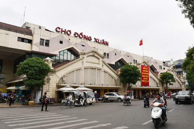 Khám phá ngôi chợ có tuổi đời lâu nhất Thủ đô - 1