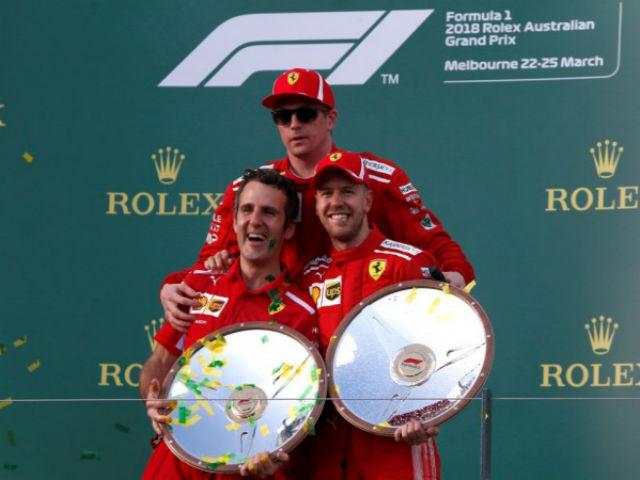 Đua xe F1, Chinese GP: Vettel giành pole sau 14 năm cho Ferrari