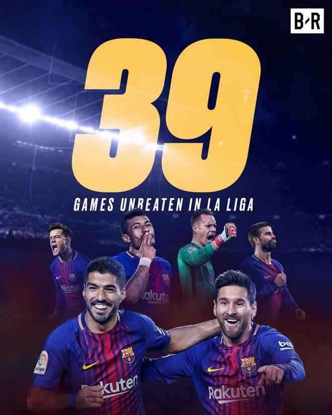 Bị loại ê chề ở Cup C1, Barca - Messi an ủi bằng siêu kỷ lục La Liga - 1