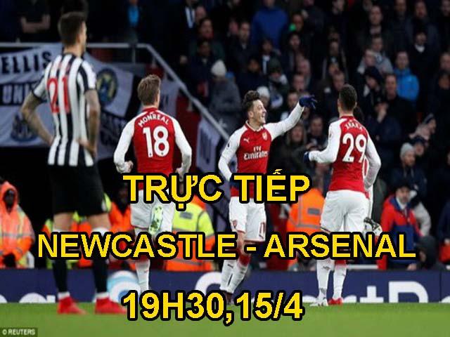 TRỰC TIẾP bóng đá Newcastle - Arsenal: Cuộc phục kích ở St James's Park