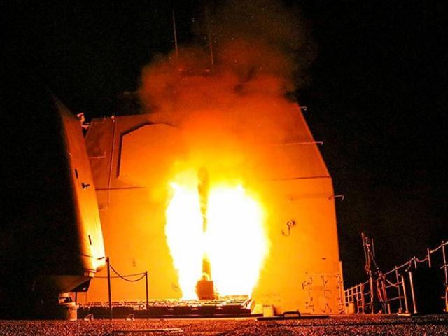 Lầu Năm Góc: Tên lửa Mỹ bắn trúng mọi mục tiêu ở Syria
