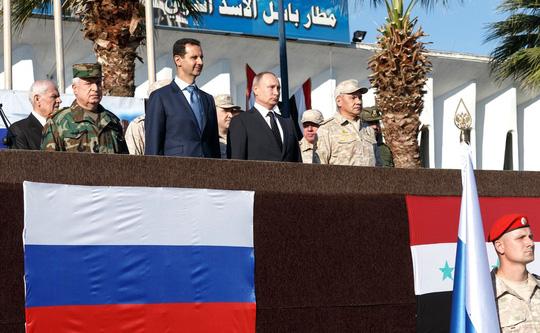 Mỹ và đồng minh tấn công Syria: Vì sao Nga không đáp trả? - 1