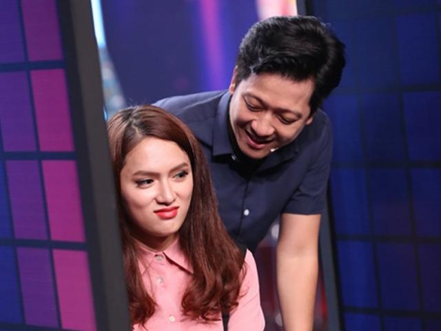 Giữa tin chia tay Nhã Phương, Trường Giang lại thân mật với Hương Giang Idol