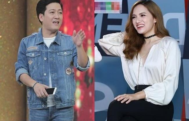 Ngay lập tức, cặp đôi Trường Giang và Hương Giang khiến cư dân mạng tò mò về mối quan hệ.