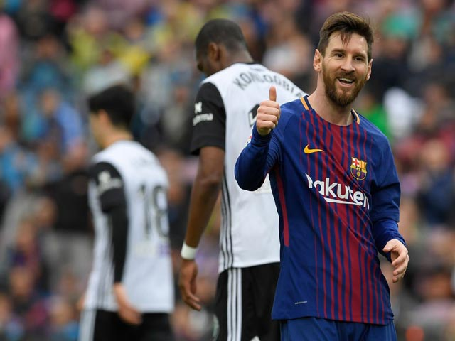 Bị loại ê chề ở Cup C1, Barca - Messi an ủi bằng siêu kỷ lục La Liga