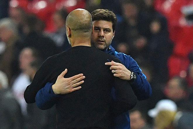 Man City hạ Tottenham: Pep Guardiola vẫn cay cú, đá đểu MU - 1