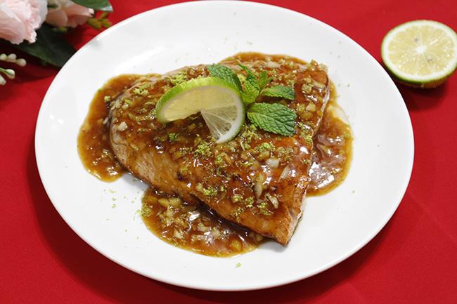 Thi thoảng ăn sang với cá hồi sốt bơ béo ngậy, thơm lừng - 1
