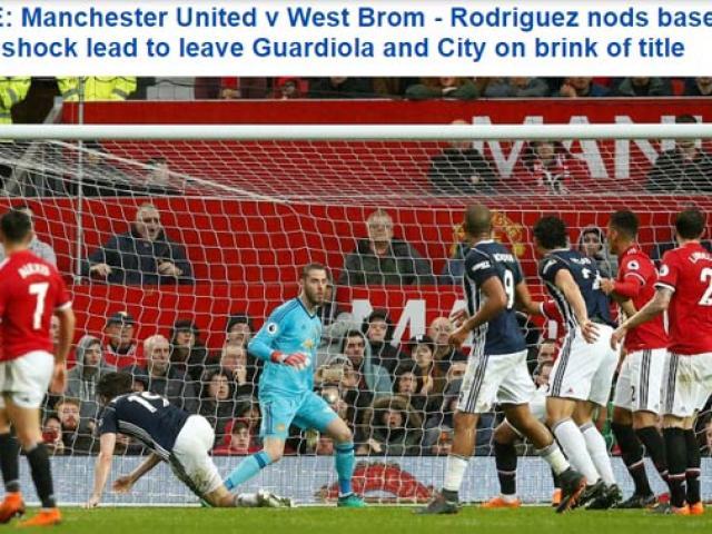 MU thua đội bét bảng, Man City vô địch: Báo Anh sốc, chê Mourinho thậm tệ