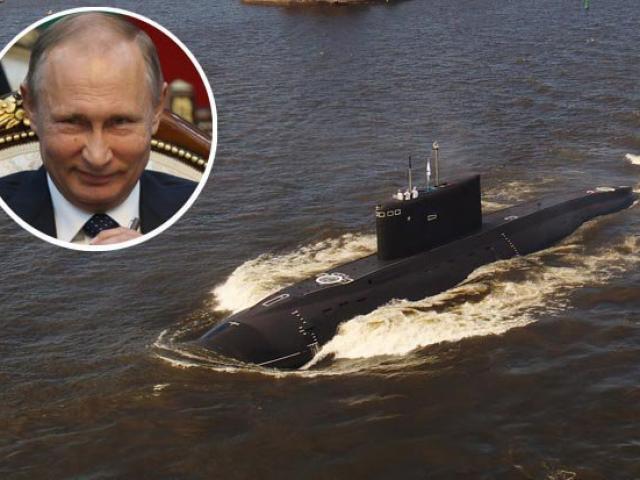 """""""Hố đen đại dương"""" Nga săn lùng tàu ngầm Anh ngoài khơi Syria"""