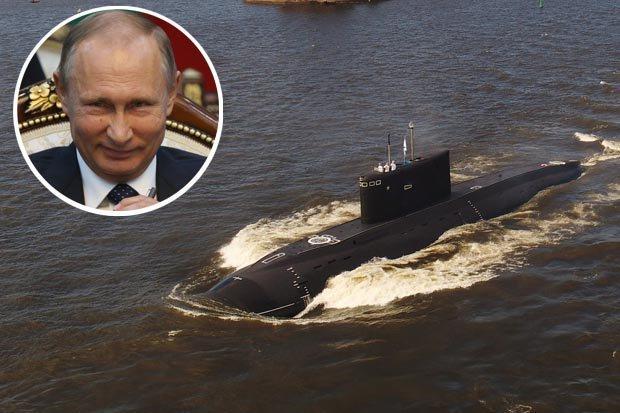 """""""Hố đen đại dương"""" Nga săn lùng tàu ngầm Anh ngoài khơi Syria - 1"""