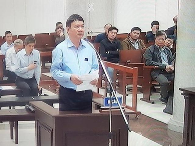 Ông Đinh La Thăng kháng cáo toàn bộ bản án