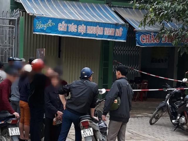 Bàng hoàng phát hiện cặp vợ chồng chết trong quán cắt tóc gội đầu
