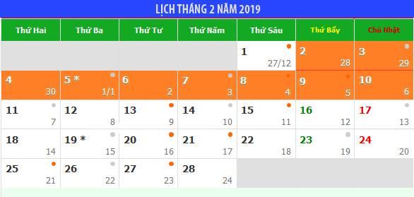 Đề xuất Tết Nguyên đán 2019 được nghỉ 9 ngày liên tục - 1