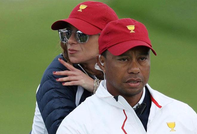 Golf 24/7: Bạn gái mới quyến rũ của Tiger Woods làm lay động cộng đồng mạng - 1