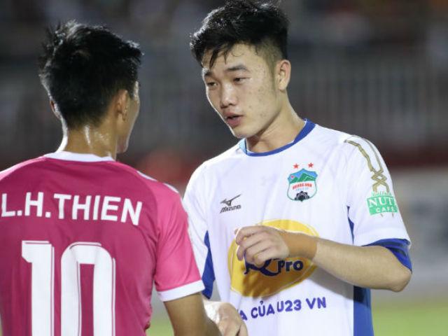 """Vòng 5 V-League: Siêu phẩm ngập tràn, SAO sáng U23 đọ tài """"siêu"""" ngoại binh"""