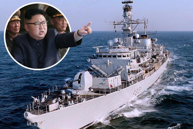 """Triều Tiên cáo buộc Anh """"gây chiến"""" khi điều 3 chiến hạm áp sát - 1"""
