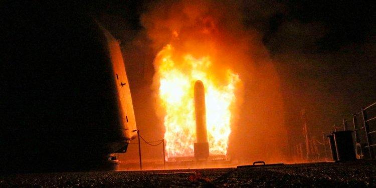 """Mỹ tấn công Syria: """"Giỡn mặt"""" Nga bằng tên lửa hành trình bậc nhất - 1"""