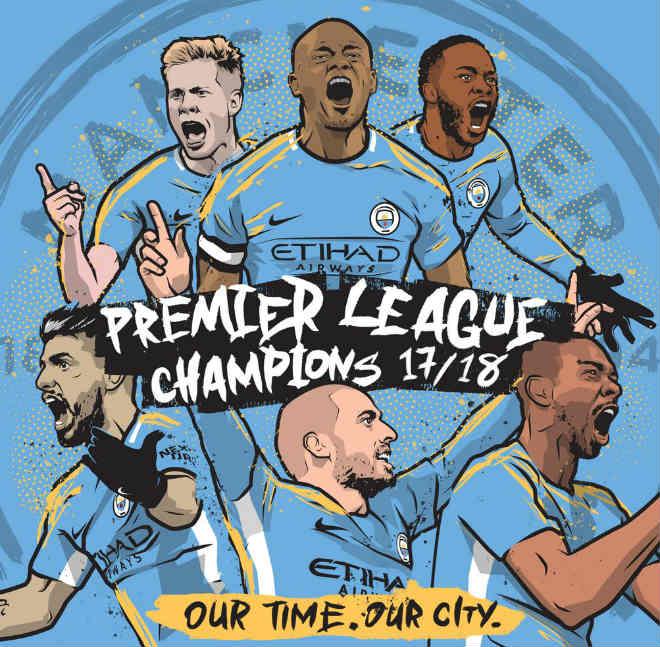 """Man City vô địch Anh sớm 5 vòng: 7 kỷ lục thần thánh chờ Pep """"đạp đổ"""" - 1"""