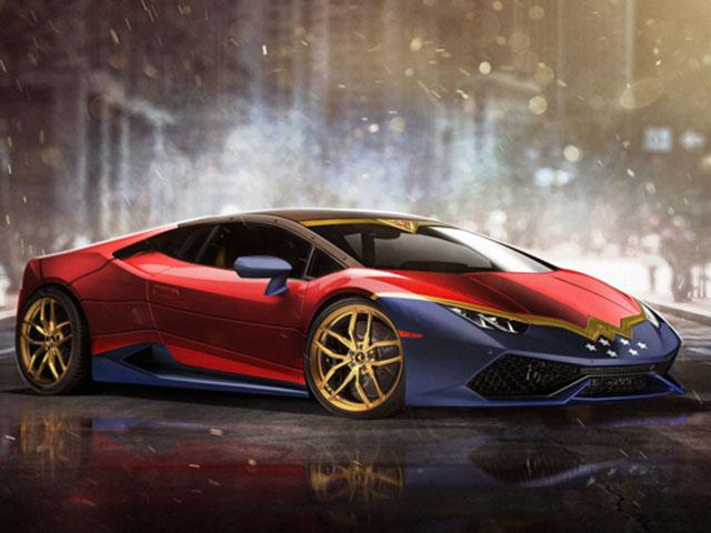 Bộ sưu tập xe ôtô lấy cảm hứng từ các siêu anh hùng