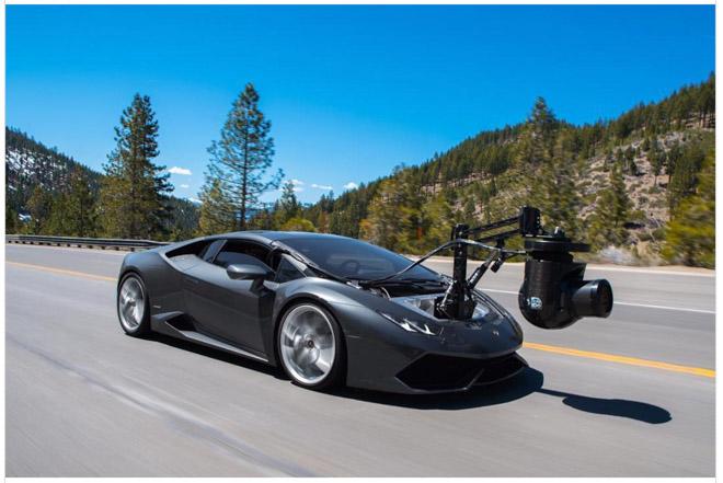 """Lamborghini """"Huracam"""" - Chiếc xe quay phim nhanh nhất thế giới - 1"""