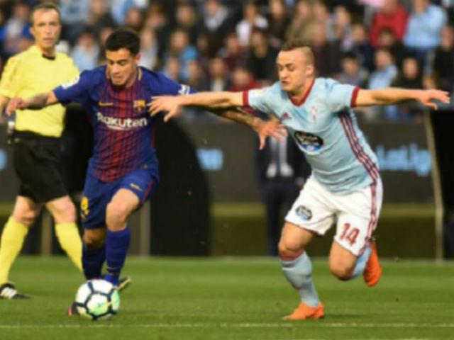 Chi tiết Celta Vigo - Barcelona: Những phút bù giờ hú vía (KT)