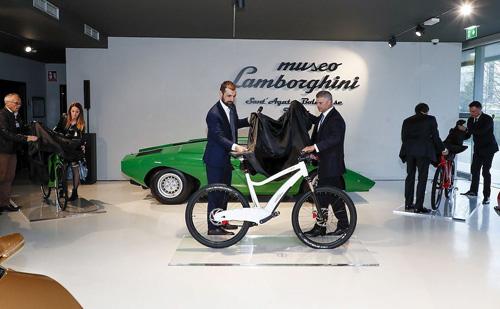 """Lamborghini trình làng mẫu xe đạp mới, giá sẽ """"chát"""" - 1"""