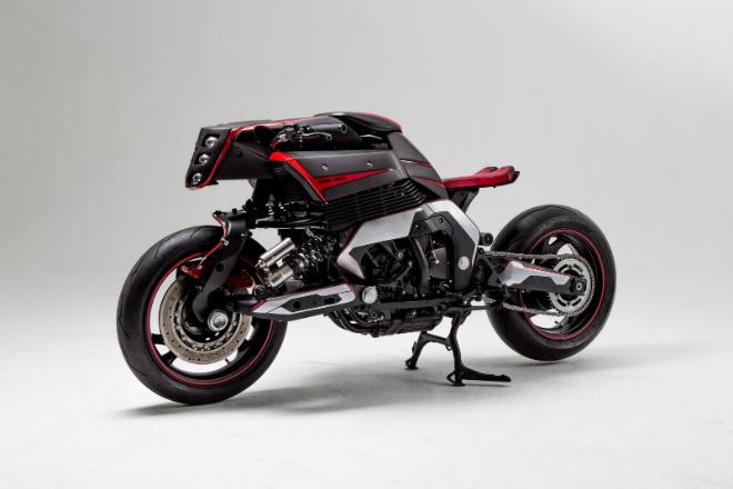 """Yamaha GTS 1000 hóa thành """"quái vật"""" khủng - 1"""