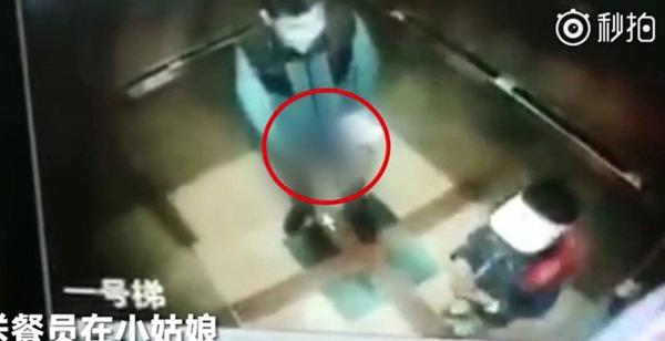 TQ: Phẫn nộ bé gái tiểu học gặp kẻ biến thái trong thang máy - 1