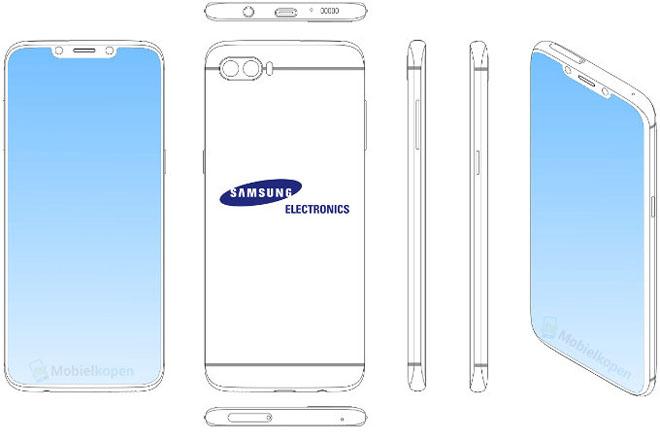 Đã có thiết kế Samsung Galaxy S10 với tai thỏ lồ lộ - 1