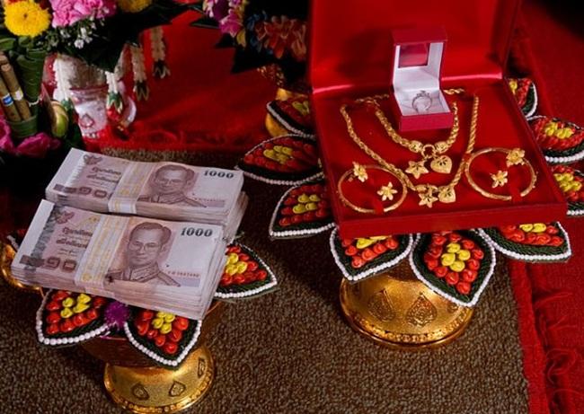 Phong tục cưới hỏi của người Hoa.